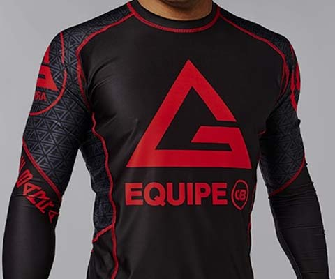 Gracie Barra Rash Guards